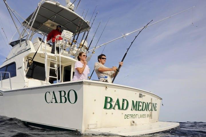 Bad Medicine - 35' CABO Flybridge fishing