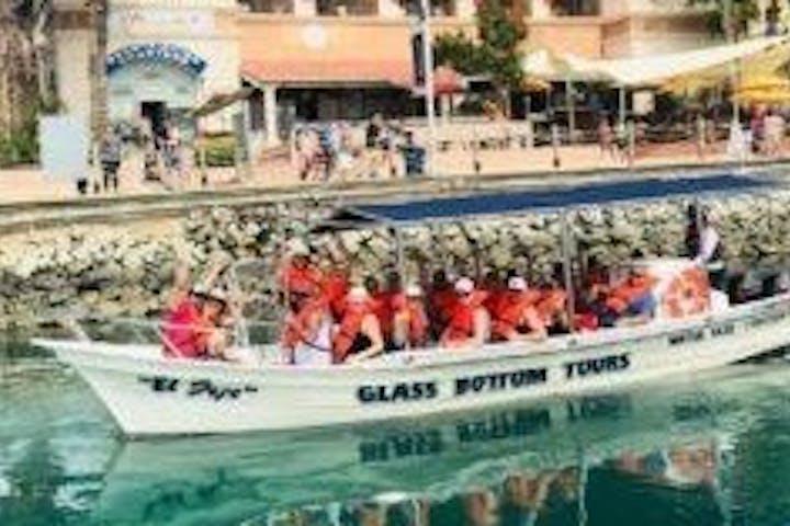 Glass bottom tour