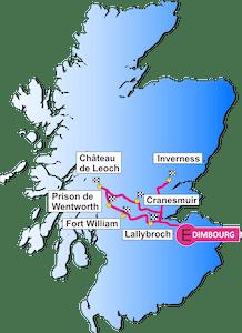 Carte du Circuit Outlander