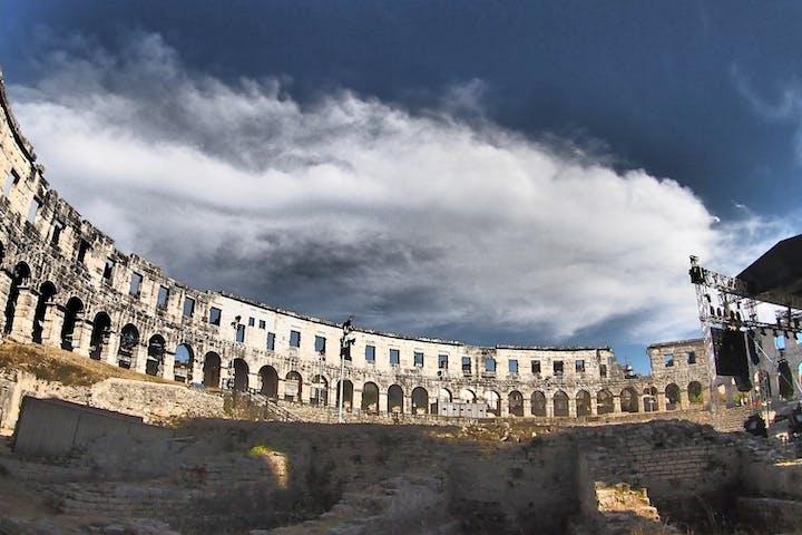 Pula Roman Heritage Walking Tour in Pula