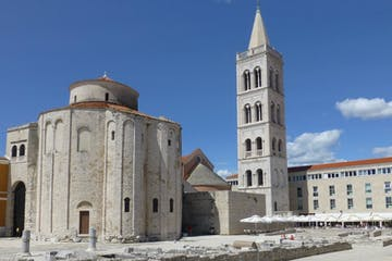 Zadar Castle in Croatia