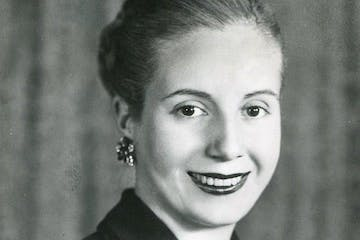 Eva Peraon posing for the camera