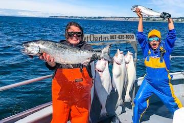 Salmon and Halibut Combo Fishing Trip