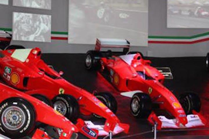 Red Ferraris