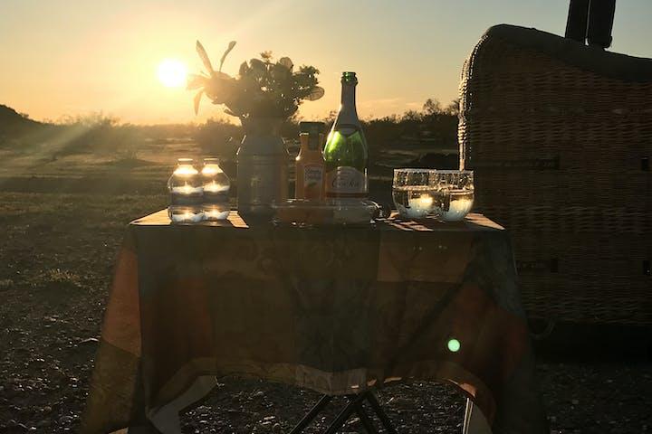 sunset dinner for two