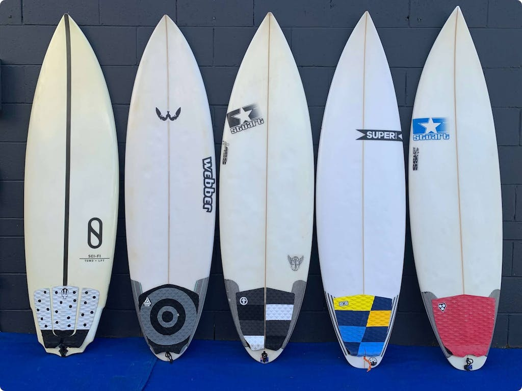High-Performance Surfboards