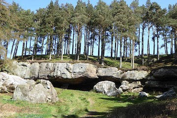 St. Cuthbert's Cave, Northumberland