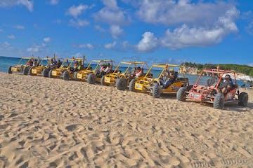 ATV buggy rides on beach