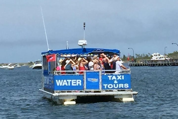 Water taxi on the water