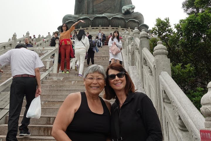 people tour in lantau hong kong
