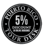 puerto rico tour desk 5% discount