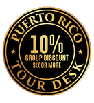 Puerto Rico Tour Desk 10% discount