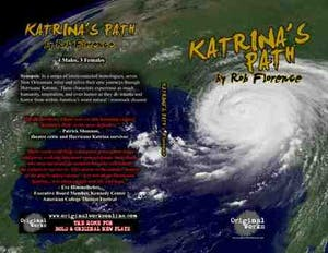 book cover of katrina's path