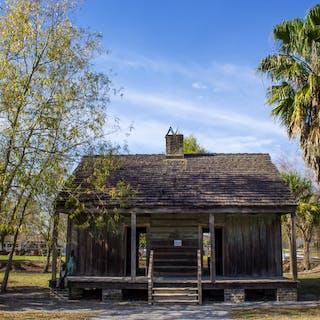 Slave Quarters on a New Orleans Plantation Tour