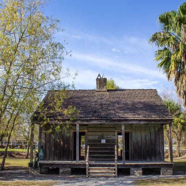 Slave Quarters on a New Orleans Plantation Tour
