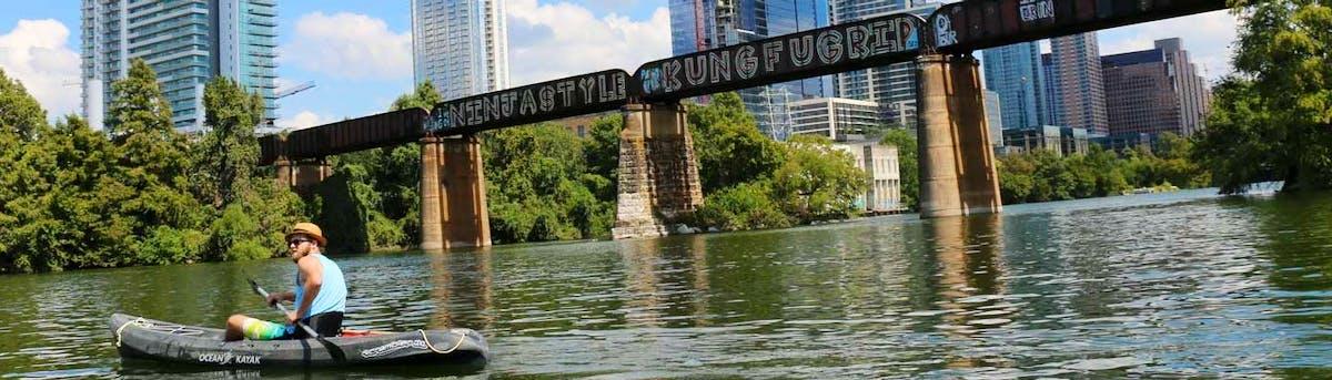 Lone star kayak tours
