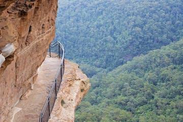 Cliff in Blue Mountain Australia
