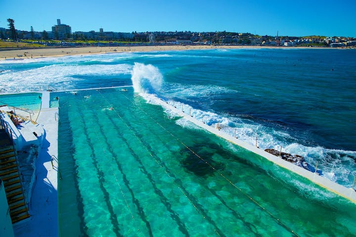 Beautiful bondi beach Australia