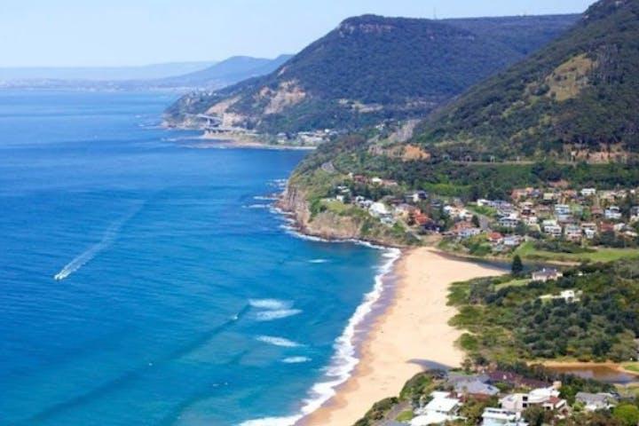 Beautiful beach in South Coast Australia