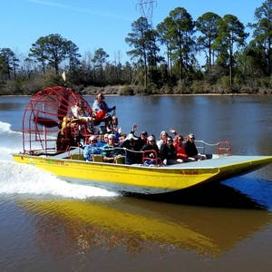 Alligator Airboat Tours Panama City Beach