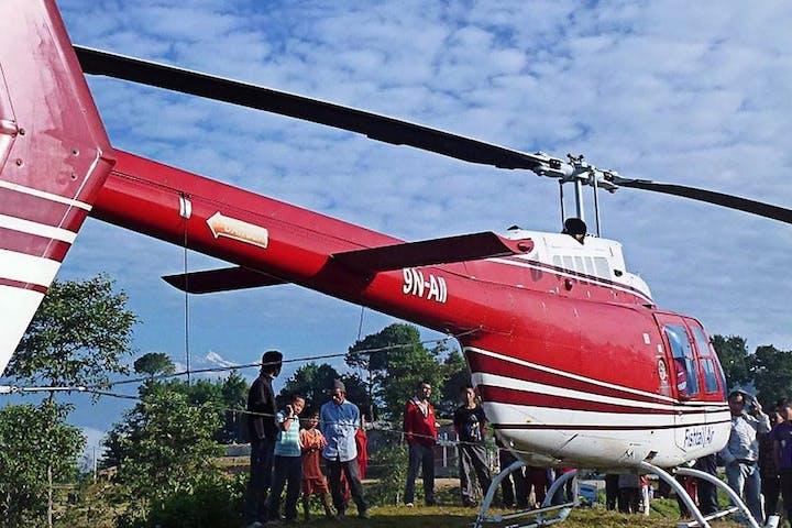 Helicopter Sightseeing of Kathmandu