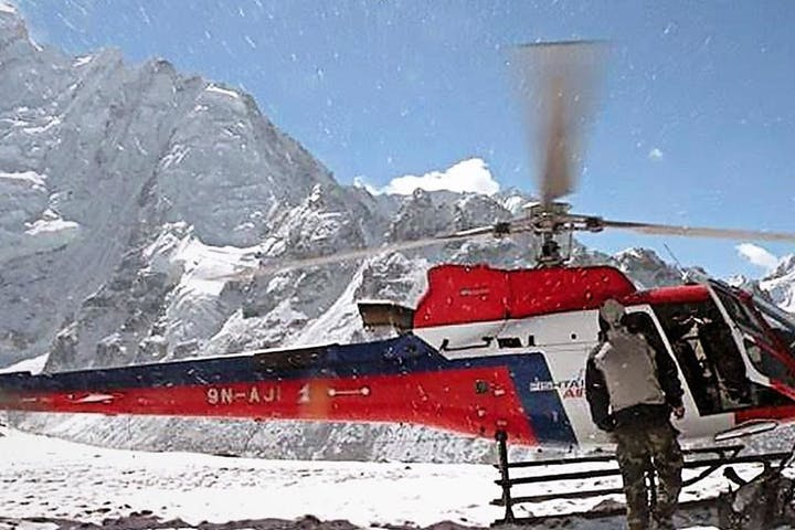 Ultimate Mountain Flight by Helicopter