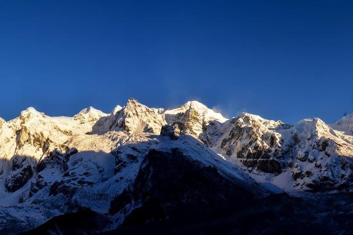 Kanchanjunga Goechla Trek mountain
