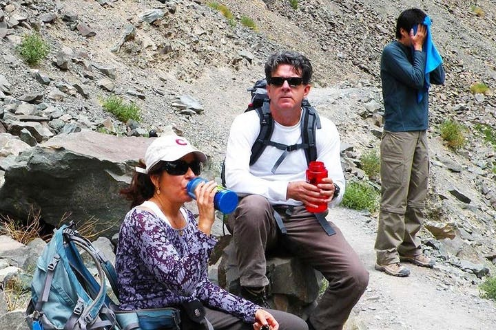 Break on the trek