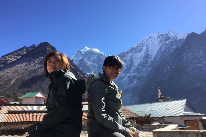 Women on trek