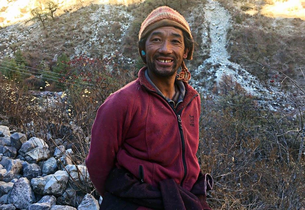 Sherpa man