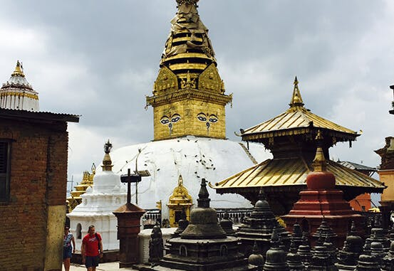 Swayambhu-Stupa-in-Kathmandu