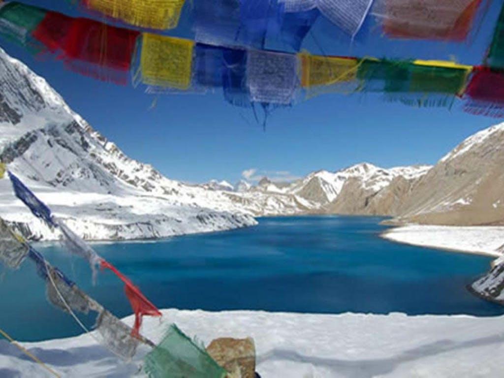 Tilicho Lake, Nepal.