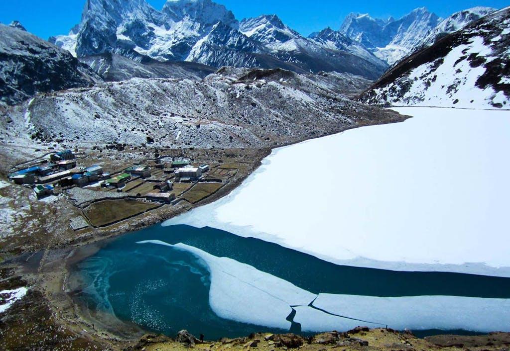 Gokyo Lake, Nepal.