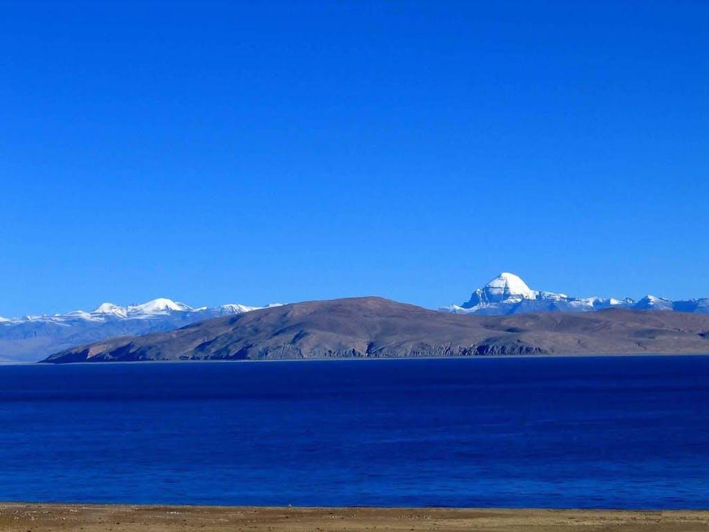 Manasarovar Lake, Tibet.