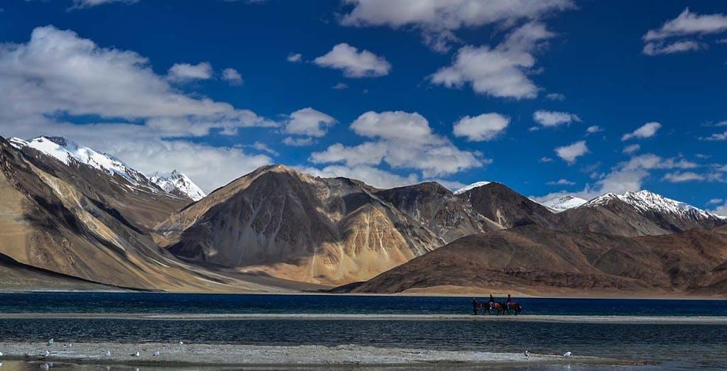 Pangong Tsho, Ladakh, India.