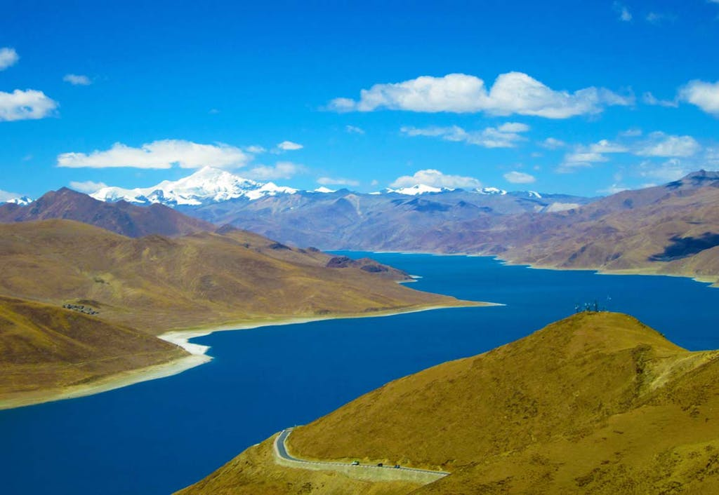 Yamdrok Tsho, Tibet.