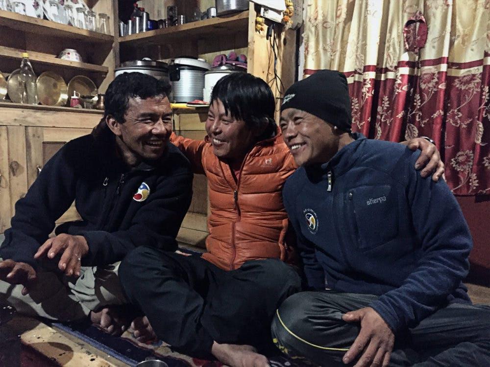 Trekking team