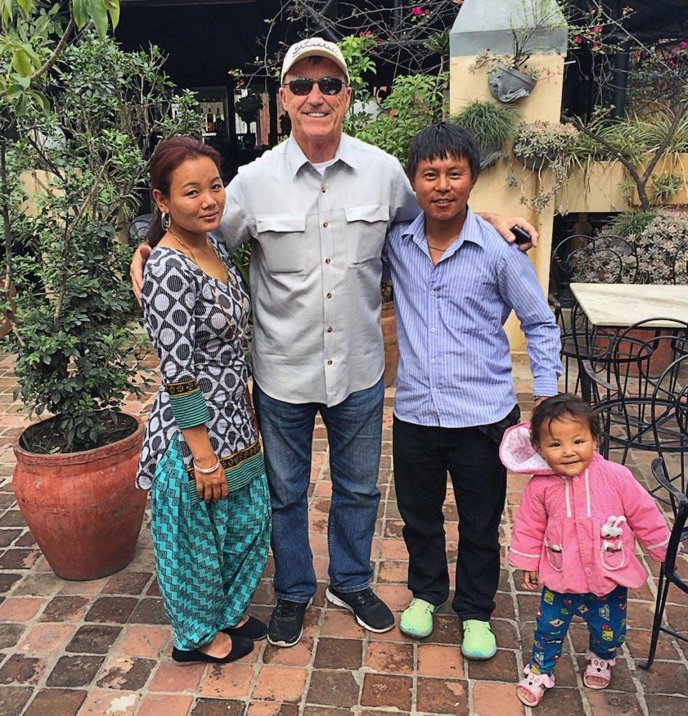 Chandra's family