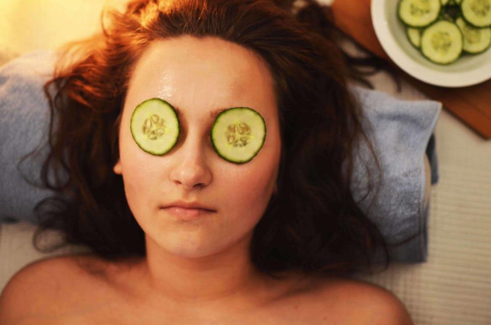 Beauty mask.
