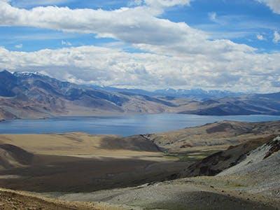 Tsomoriri Lake in Ladakh