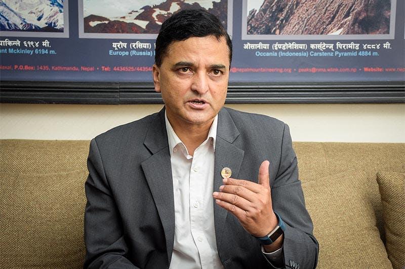 Yogesh Bhattarai Tourism minister of Nepal