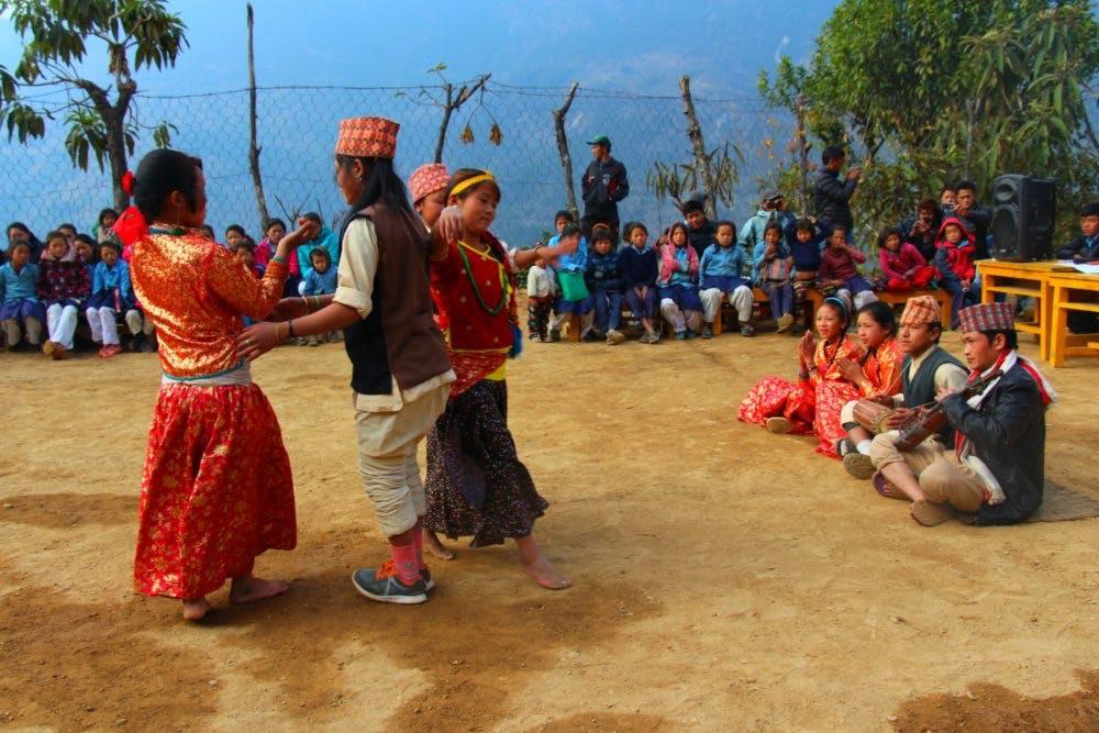 Nepalese folk dance