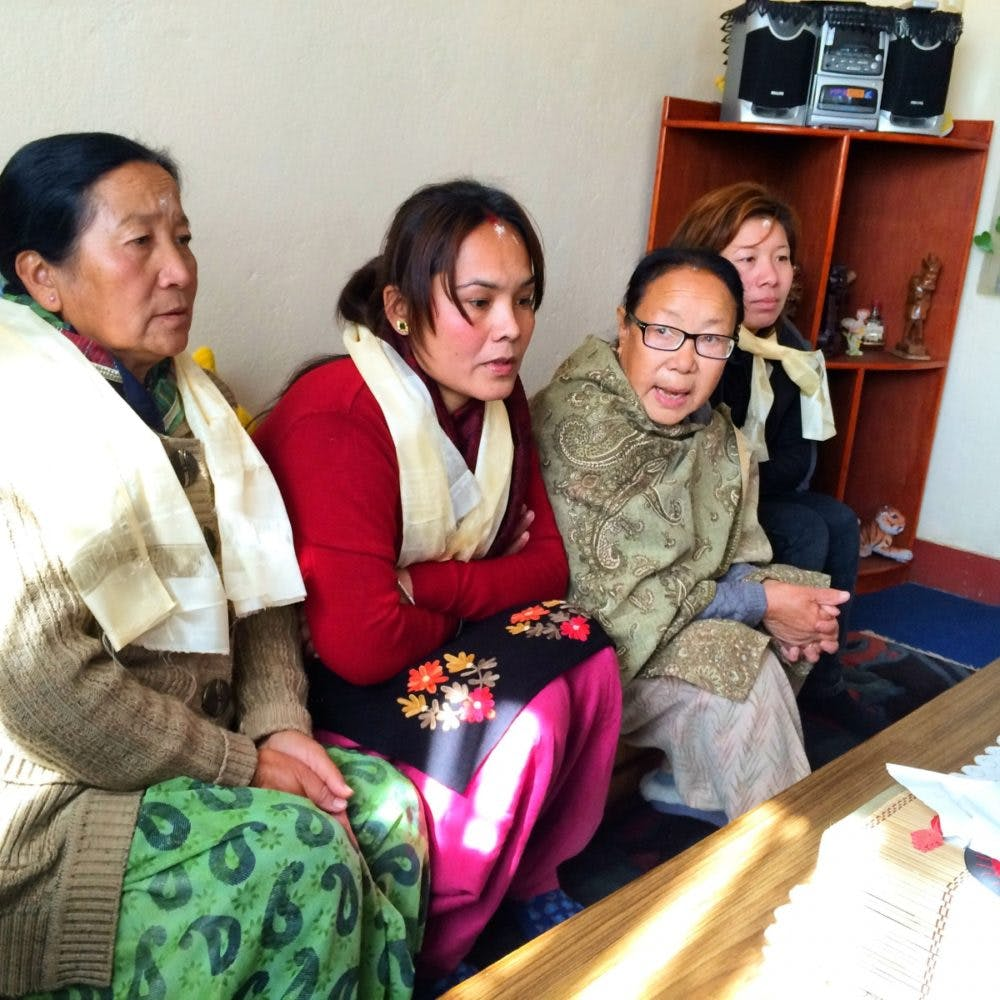 The people of Sikkim