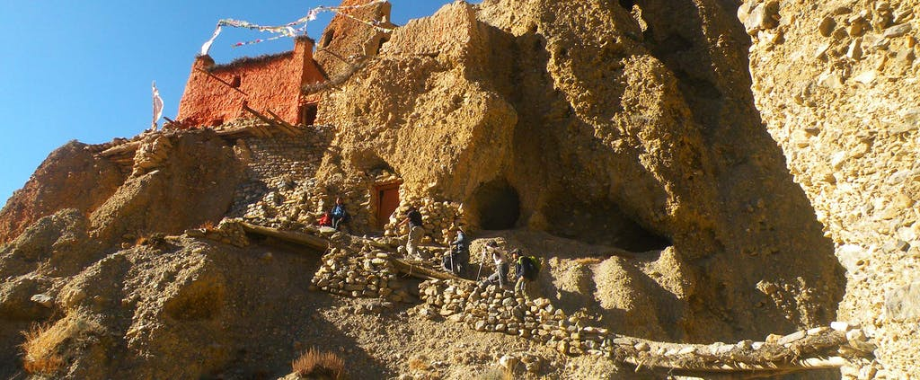 Upper Mustang caves
