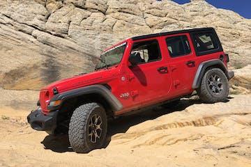 Red Jeep Rental in Vernal
