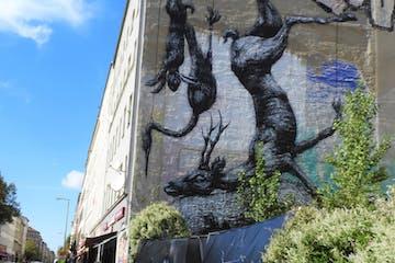 Street Art an einer Hauswand