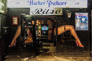 Die berühmte ´Zur Ritze´-Bar auf St. Pauli
