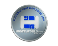 Hostelworld Award Logo