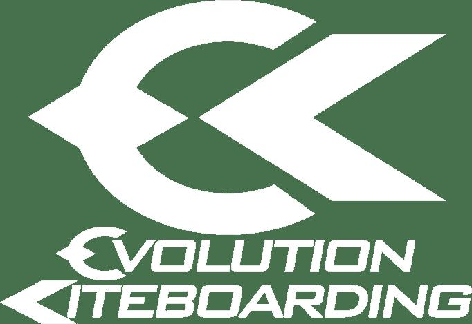 Evolution Kiteboarding White Logo