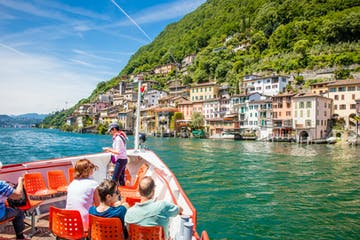 LAKE LUGANO FERRY PASS